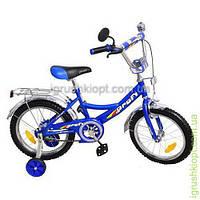 Велосипед PROFI детский 14 дюймов синий