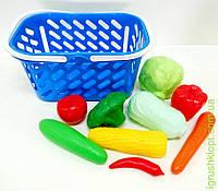 Корзинка с овощами, 11 предметов KW