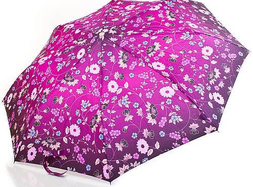 Яркий полуавтоматический женский зонт  ZEST (ЗЕСТ) Z53626A-6 Антиветер!