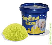 Песок жёлтого цвета в ведре 1 кг , ST