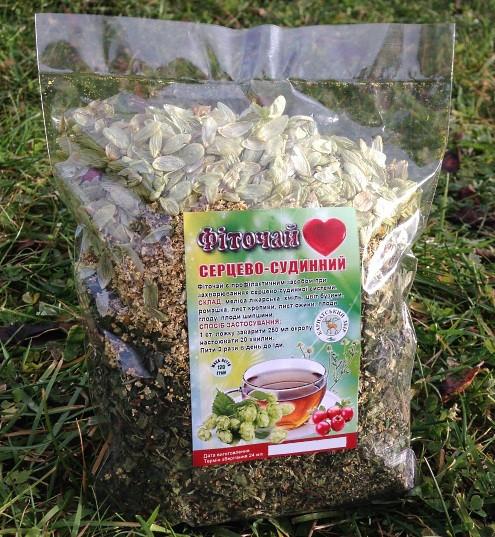 Фiточай - Серцево-судинний, 120 грам