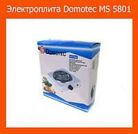 Электроплита Domotec MS 5801 Продажа только ящиком!!!