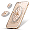 Чехол силикон. прозрачный с колечком в овальной рамке на iphone 5/5S COV-031!Акция, фото 4