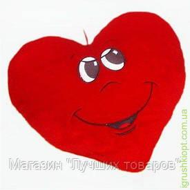 Мягкая игрушка Подушка сердце мальчик, Золушка