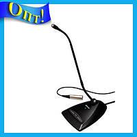 Микрофон с гибким держателем конденсаторный 100Hz-16KHz MX-412C!Опт