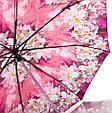 Женский полуавтоматический зонт  ZEST Z53626A-3 антиветер, фото 3