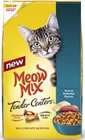 Meow Mix Tender Center Tuna & Whitefish (Мяу Микс Тендер сентер) корм для взрослых кошек 6,12 кг