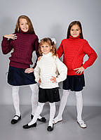 Детский вязанный свитер для девочек и мальчиков