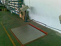 Платформенные весы 2000 кг врезные, фото 1