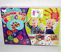 Пальчиковые краски, 7 цветов, бол, DankO toys