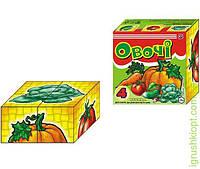 """1349 Іграшка кубики """"Овочі ТехноК"""""""
