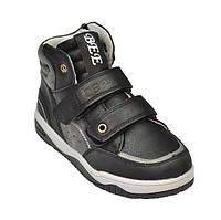Высокие ботинки черного цвета для мальчика, ТМ Clibee 33р.