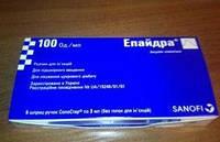 Эпайдра Солостар 100 ЕД/мл шприц-ручка 3 мл
