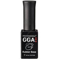 Каучуковая база под гель лак GGA Rubber Base 10 мл.
