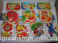 Беби пазлы для начинающих, Vladi Toys