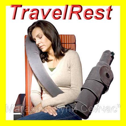 Подушка TravelRest Inflatable Travel Pillow, фото 2