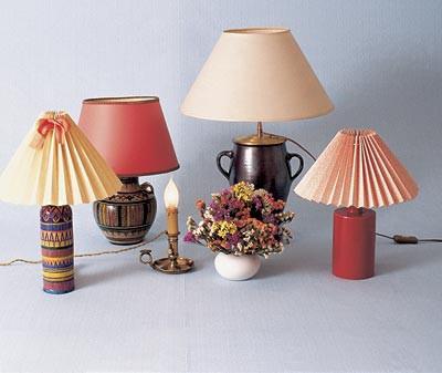 Настільні лампи, світильники, лампи