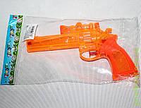 Водный пистолет, 3 цвета, прозрачный в пакете