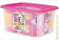 Конструктор в коробці (для дівчаток) 132 елементи, Тигрес