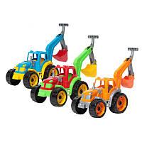 """Іграшка """"Трактор з ковшем ТехноК"""" арт. 3435 размер 40 х 30 х 15 см"""