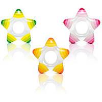 Круг 59243 детский, в форме звезды, размер 74-71см, материал: винил, 3 цвета, в кульке,