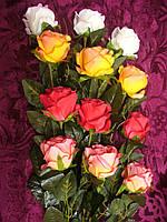 Роза бутон  одна на ноге Новинка (9 шт)