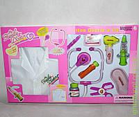 Www Набор Доктора с халатом, 10 предметов, в коробке