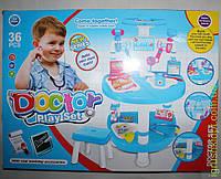 Www Набор Доктора-столик, 36 предметов, в коробке