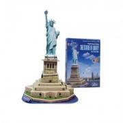 Пазлы 3D архитектура  Статуя свободы, фото 2