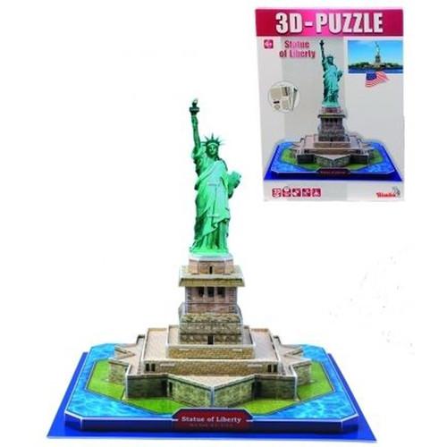 Пазлы 3D архитектура  Статуя свободы