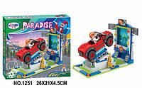 Конструктор BELA PARADISE 1251 72шт2 162дет, в коробке 26214,5см