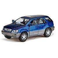 HU Машинка жел KINSMART KT 5040 W (96шт) инер-я, 1:36 LEXUS RX300, откр.двери, в кор-ке