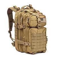 Тактический армейский военный рюкзак 600D REEBOW 32L Песок, фото 1