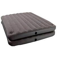 Велюр кровать 67744 двуспальная, состоит из 2-х частей (матрасов), 152-203-46,см