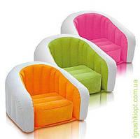 Велюр кресло детское, в кор-ке, INTEX