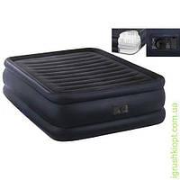 Велюр кровать со встроенным насосом 220В, INTEX