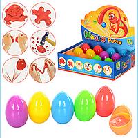 Жвачка для рук в яйце. упакованы в банку MK 0444