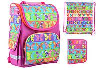 Набор 1 вересня Smart для девочки рюкзак 555214, пенал 531654, сумка 555220