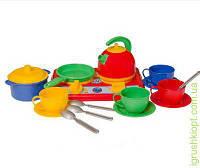 """Іграшка кухня """"Галинка 5 ТехноК"""" в пакете , 16 предметов."""