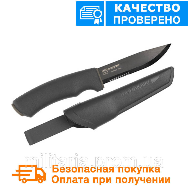Нож mora BushCraft BLACK SRT 12418, фото 1