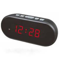 Электронные часы VST 712-1 Красная подсветка