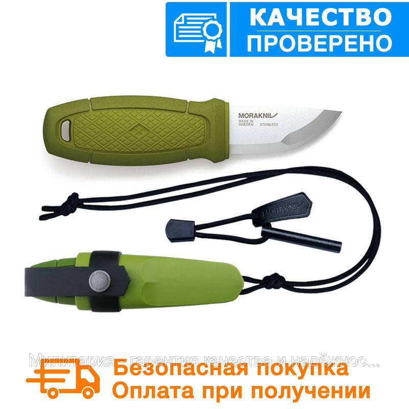 Нож morakniv (мора) Eldris Colour Mix 2.0 Green (12633)