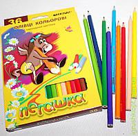 Карандаши цветные ПЕГАШКА, 36цв
