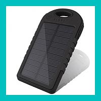 Внешний аккумулятор с солнечной панелью Power bank Solar 10000 mha