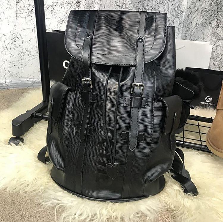 Рюкзак ранец портфель мужской женский Louis Vuitton Supreme копия реплика -  AMARKET - Интернет-магазин f1e73bb0421