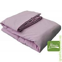 Комплект шерсть одеяло + подушка 110 х 140 (цв.розовый)