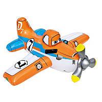 Плотик 57532 самолет, Planes, 119-119см, с ручками,от 3-х лет,рем комп