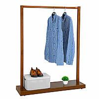 """Вешалка деревянная с подставкой для обуви """"Элит"""", фото 1"""