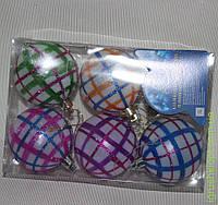 Елочные шарики 8470 6 см 6 шт