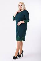 Платье женское Кружево (зелёный)
